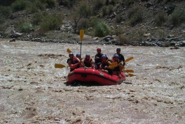 Rafting on Rio Mendoza | © Roberto Fiadone/WikiCommons