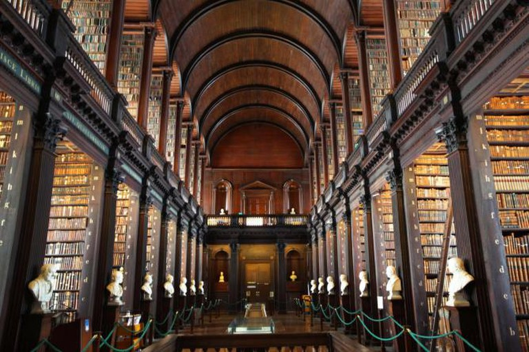 The Long Room in Trinity College Library © Steve Evans