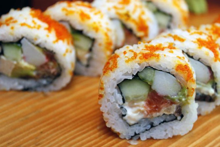 Meal from North Beach Sushi | © North Beach Sushi