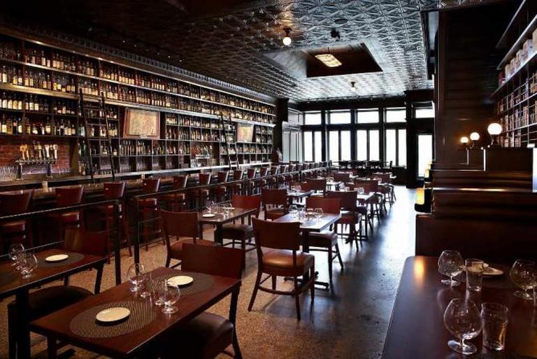Interior of Jack Rose Dining Saloon