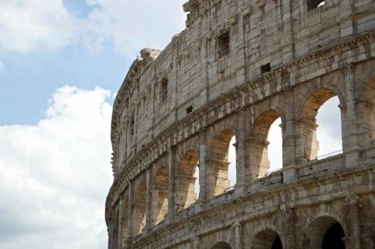Rome's monumental Colosseum | Courtesy of Stefan Hunt