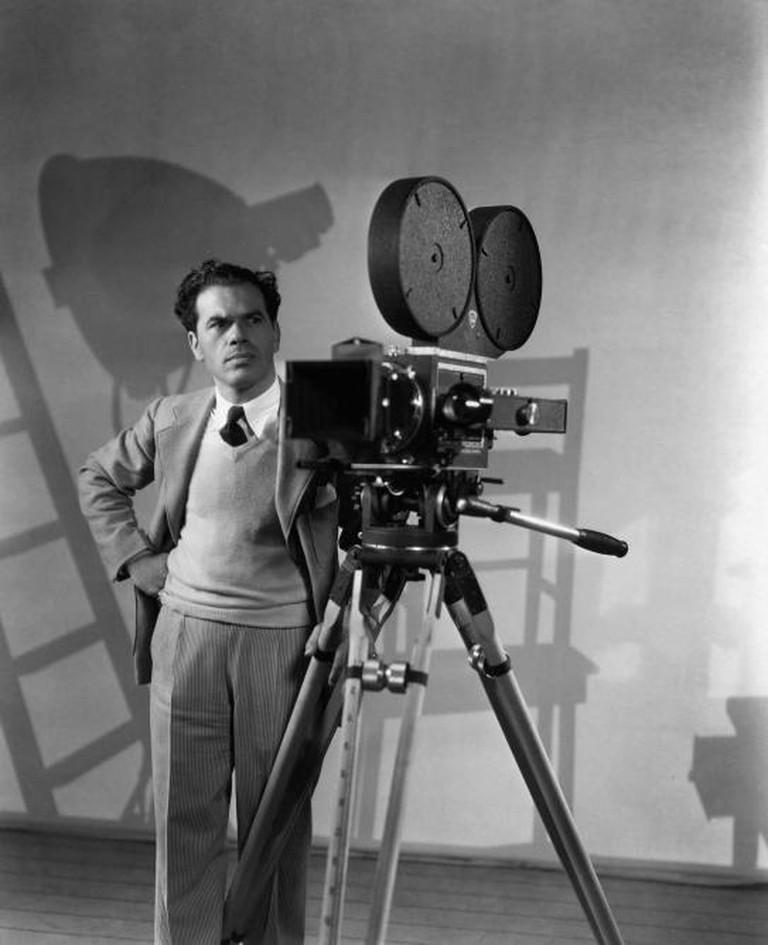 Portrait of director Frank Capra, ca. 1930s. Courtesy of the Margaret Herrick Library