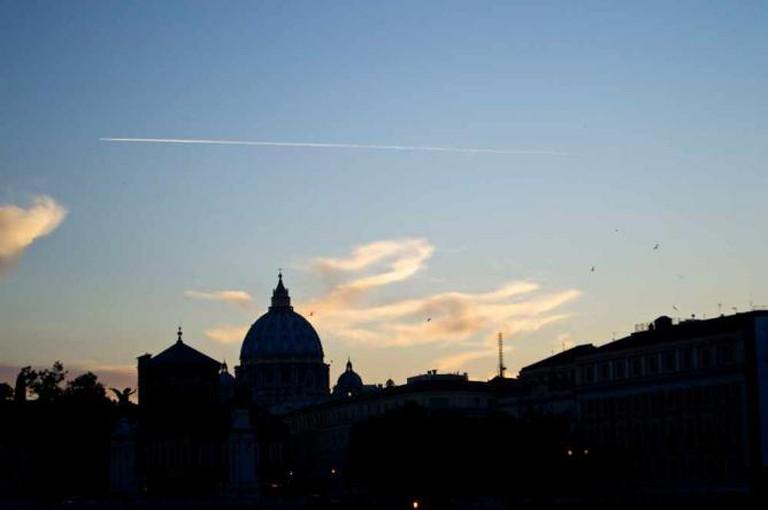 Rome's beautiful skyline | Courtesy of Stefan Hunt