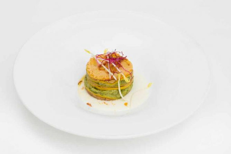Antico Arco's homemade lasagne with basil and pistachio sauce | Courtesy of Antico Arco