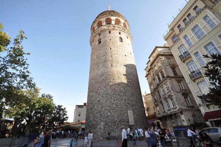 Galata Tower | © Jorge Láscar/WikiCommons