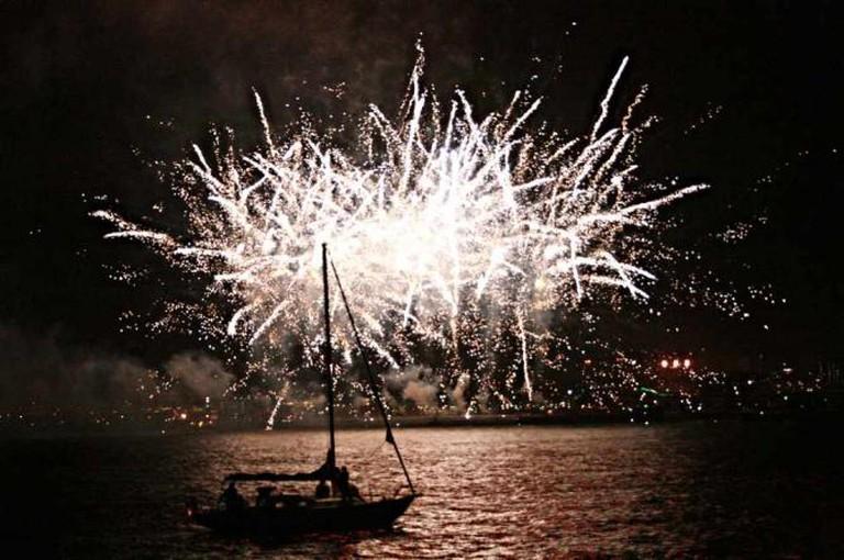 Angel Island-Tiburon Ferry Fireworks   ©ColleenProppe/flickr