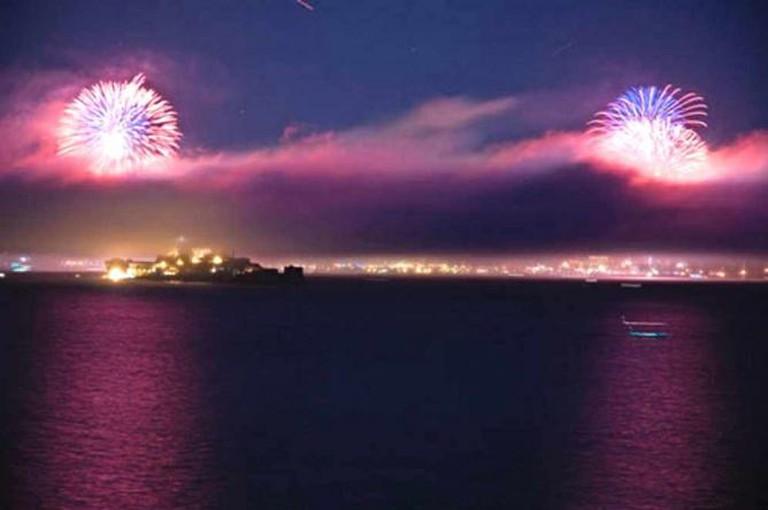 Angel Island Fireworks   ©garymorgret/flickr