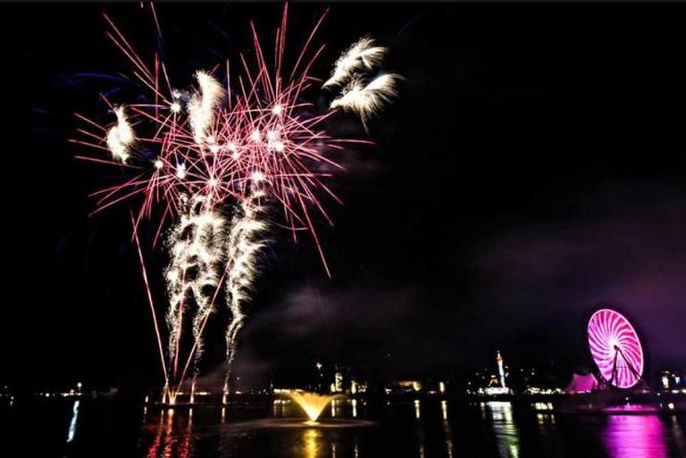 Marin Fair Fireworks   ©LarryNienkark/flickr
