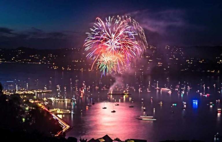 Sausalito Fireworks   ©NocturnalBob/flickr