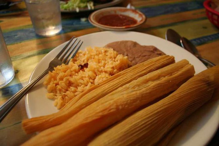 Mexicantown meal | © Liza Lagman Sperl/Flickr