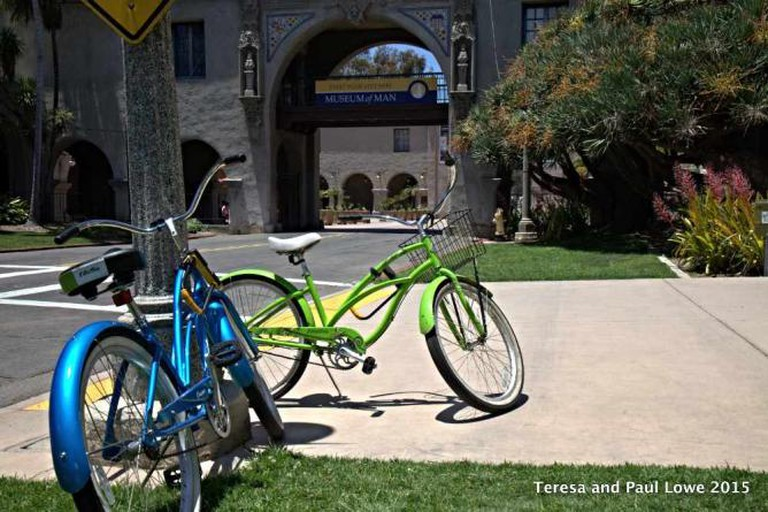 Take a bike from from Hard Rock Hotel SD to Balboa Park's Museum District