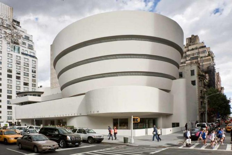 Frank Lloyd Wright's Guggenheim Museum in New York City.