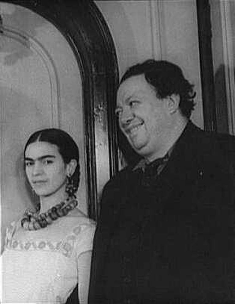 Frida Kahlo and Diego Rivera © Carl Van Vechten/Wikimedia Commons