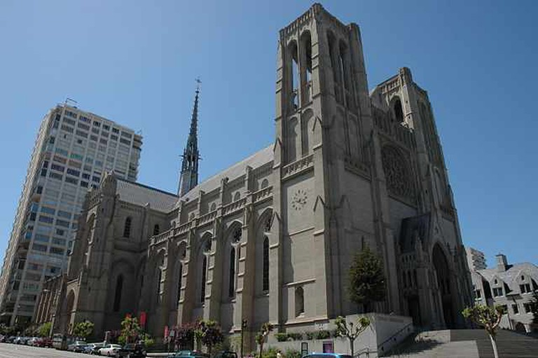 Grace Cathedral © Licensed under CC BY-SA 3.0/Wikimedia Commons