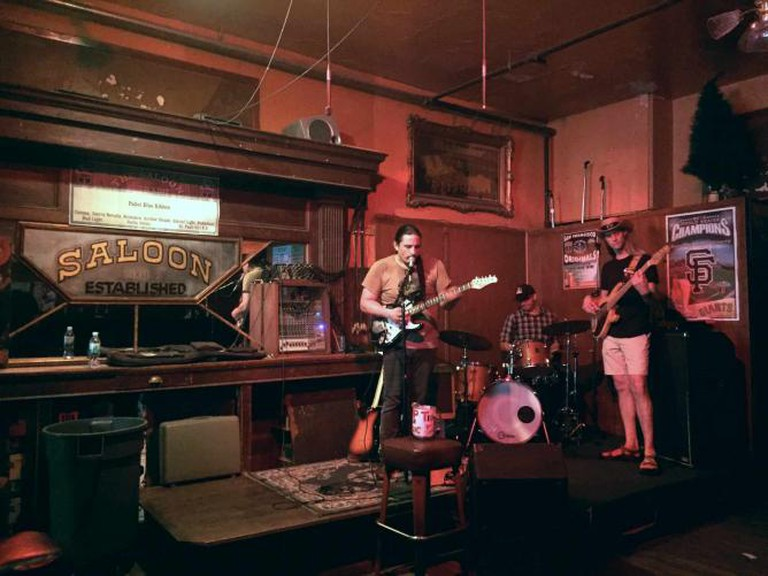 The Saloon stage | © Kelsie Axelrod