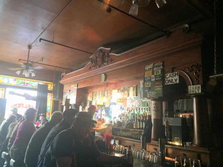 The Saloon bar | © Kelsie Axelrod