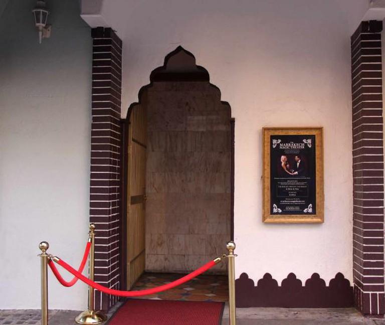 Morrocan Style Enterance l © Marrakech Magic Theater