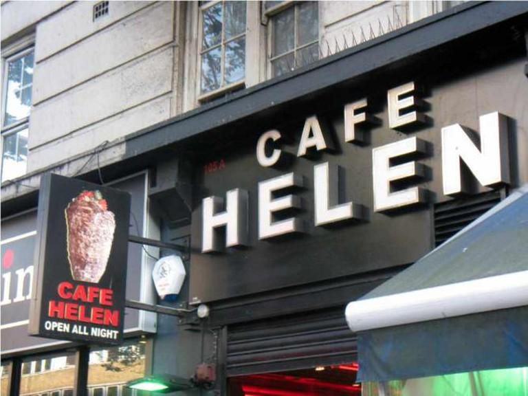 Cafe Helen, London | ©Devina Divecha/Flickr