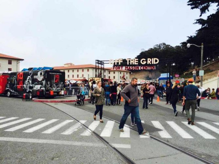 Entrance   Off the Grid Fort Mason Center