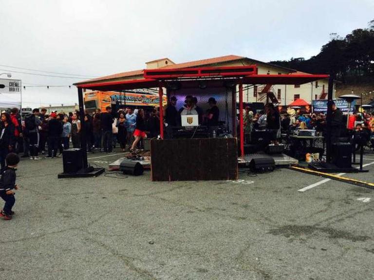 Golden State Warriors DJ Dsharp   Off the Grid Fort Mason Center