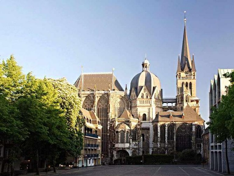 Aachen's historic cathedral I © א/WikiCommons