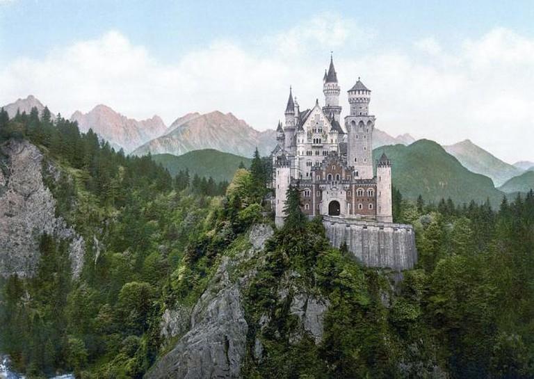 Neuschwanstein Castle © Unknown Author/WikiCommons