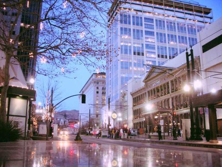 Main Street in Salt Lake City|©Antti/Flickr