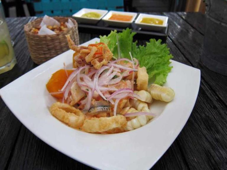 Ceviche at La Mar