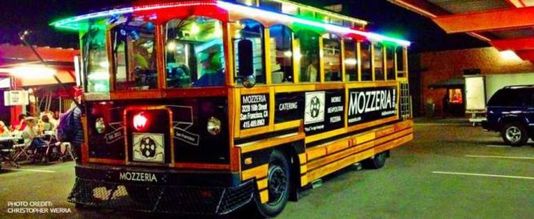 Mozzeria Mobile Pizza Trolley | Mozzeria