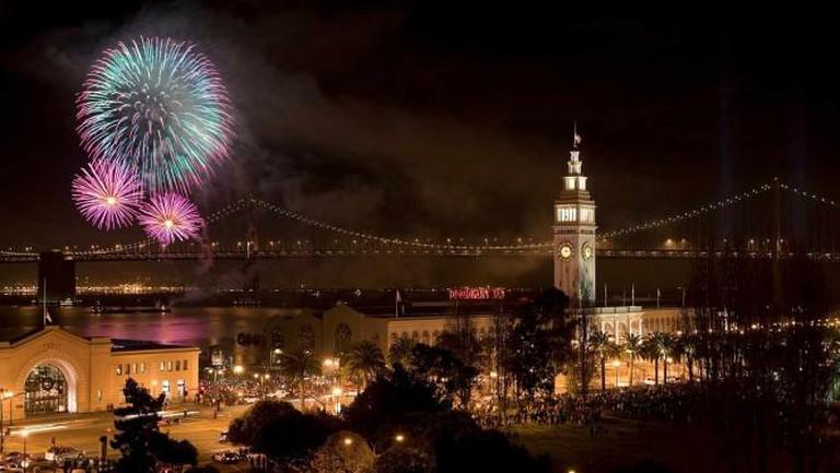 San Francisco Fireworks