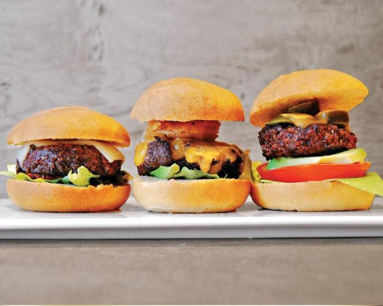 Trio Burgers   © Courtesy of Cool Bun