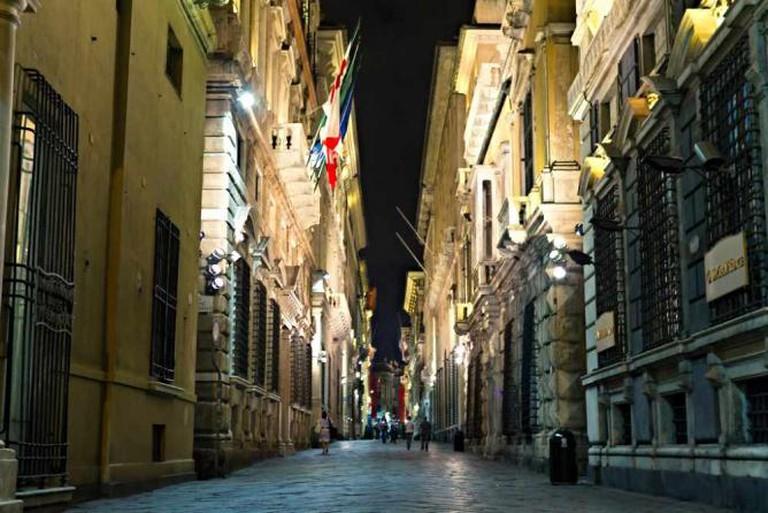 Via Garibaldi at night   © Alvaro/Flickr