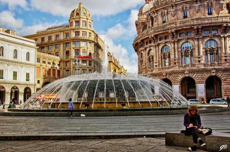 Piazza de Ferrari   © Gianpiero Bacchetta/Flickr