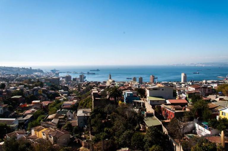 The view of Valparaiso from La Sebastiana © Mauricio Candamil Llano/Flickr