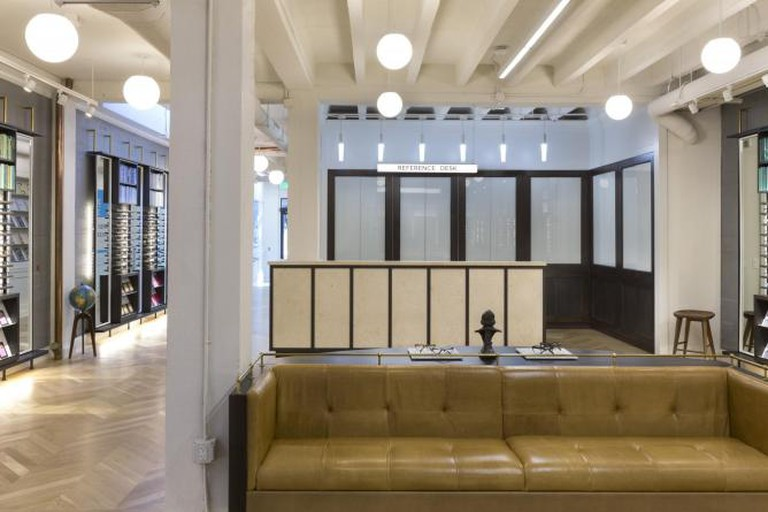 Warby Parker Showroom | © Warby Parker