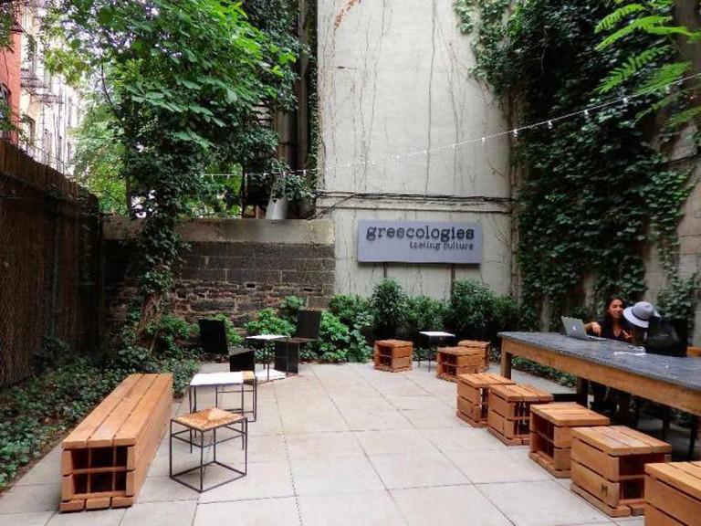 the garden of Greecologies