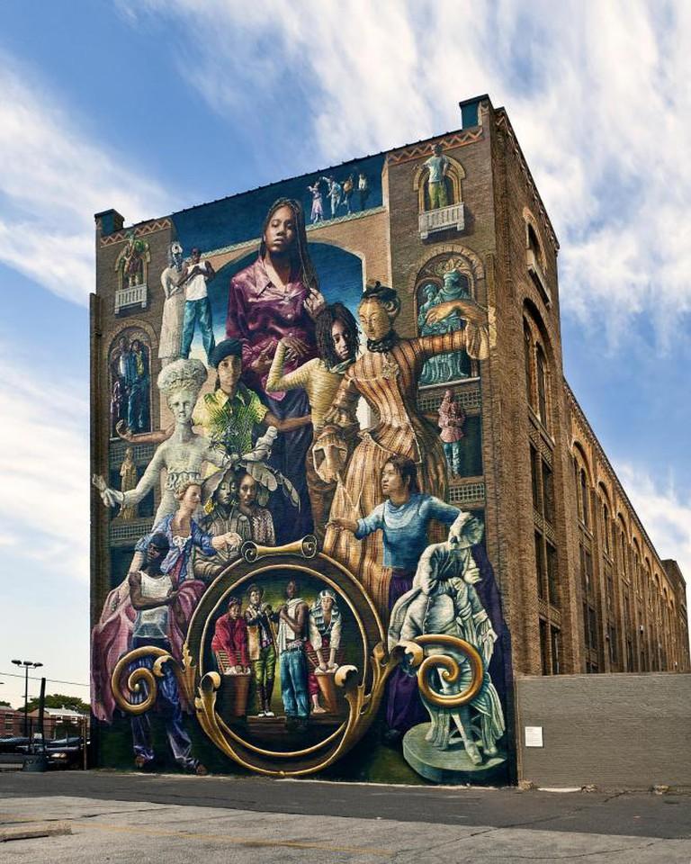 Common Threads by Steve Welnik | Courtesy of the Mural Arts Program