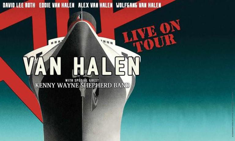Van Halen Promotional Tour Poster 2015
