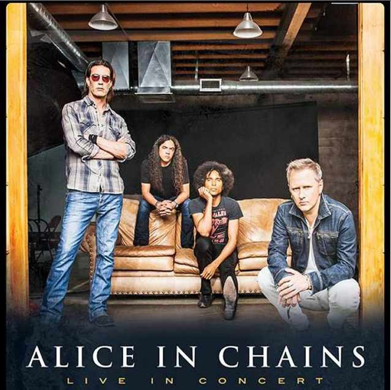 Alice In Chains Promotional Poster North American Tour 2015