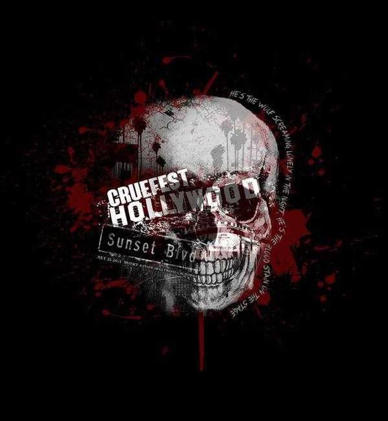 Cruefest Hollywood Official 2015 Logo