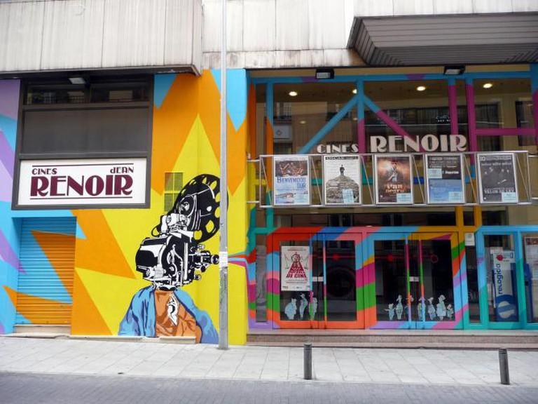 Cines Renoir | © Metro Centric/Flickr