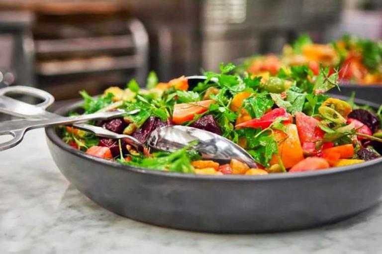 salad at Haven's Kitchen