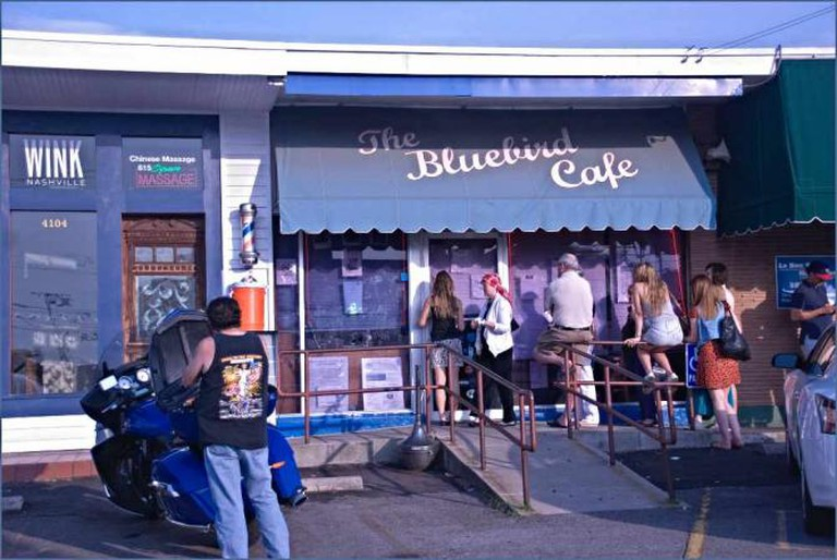 The Bluebird Cafe   © Ron Cogswell/Flickr