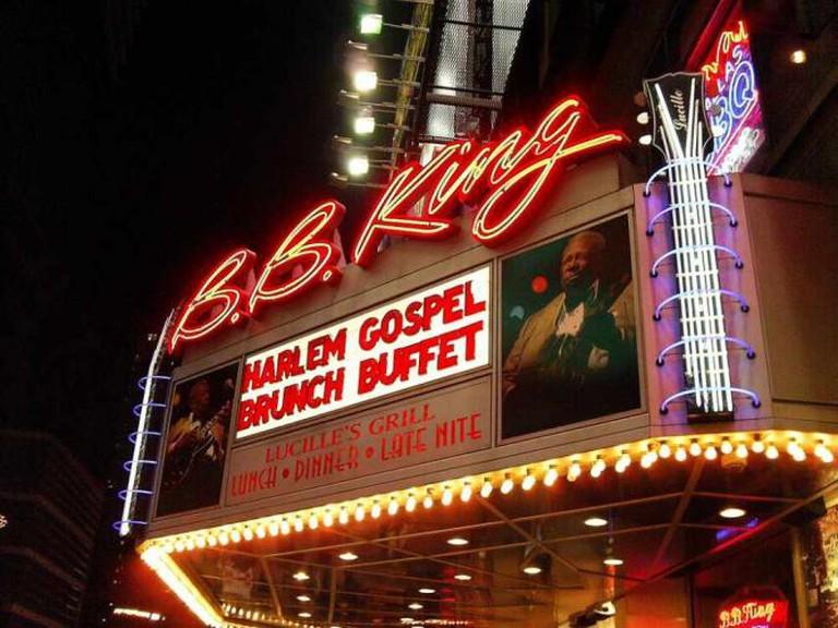 B.B. King's Blues Bar   © Matthew Mendoza/Flickr