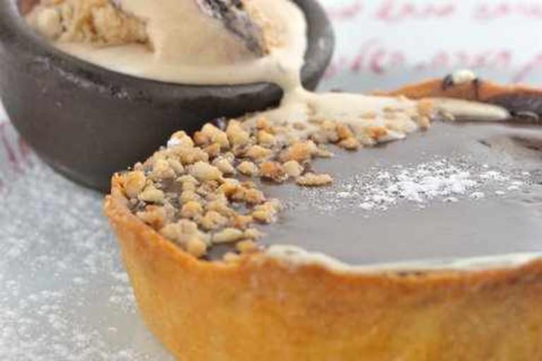 The Chocolate Pie for Dessert @Tmol Shilshom