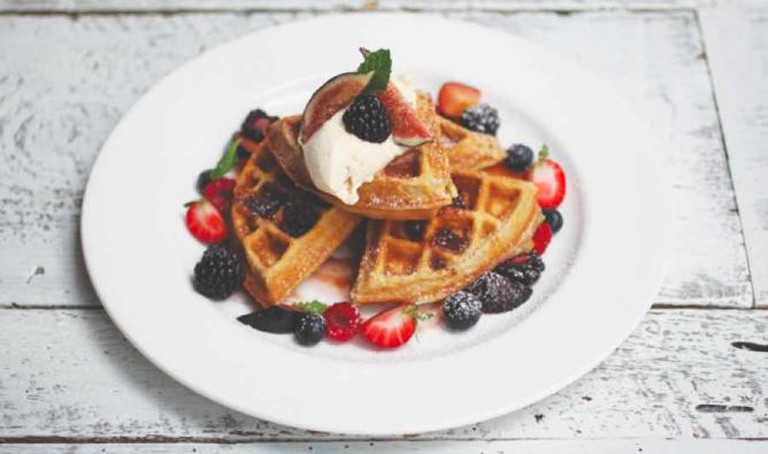 waffle from Forager's Table