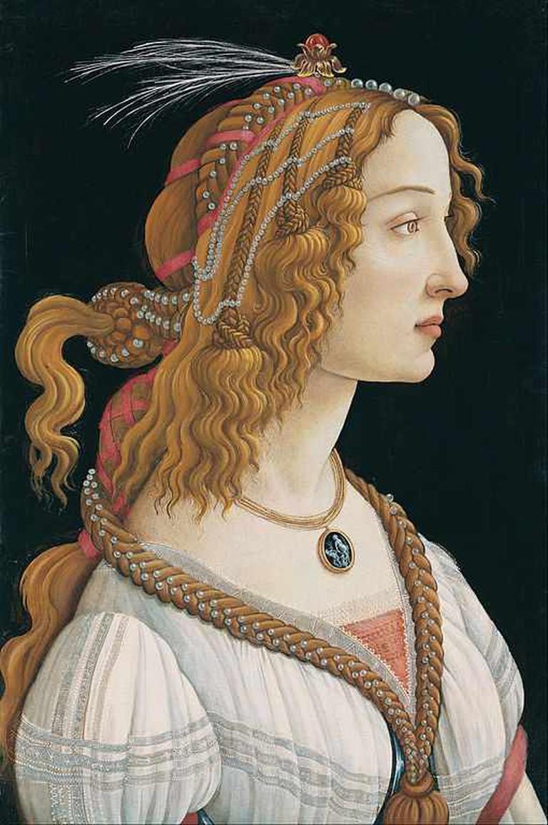 Idealized Portrait of a Lady