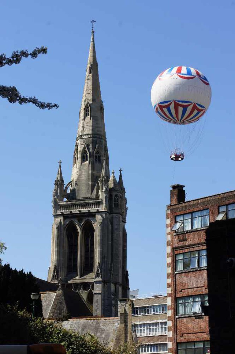 The spire of St Peter's Church, Bournemouth | © Alwyn Ladell/Flickr