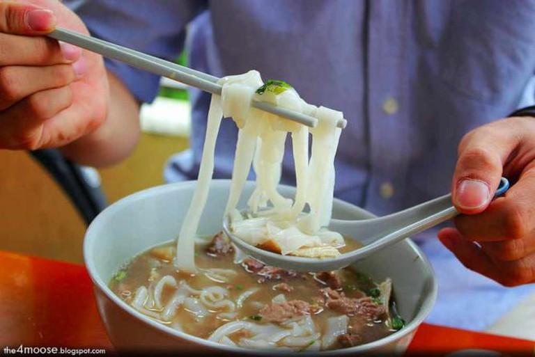 Hainanese beef noodles | Richard Lee/Flickr