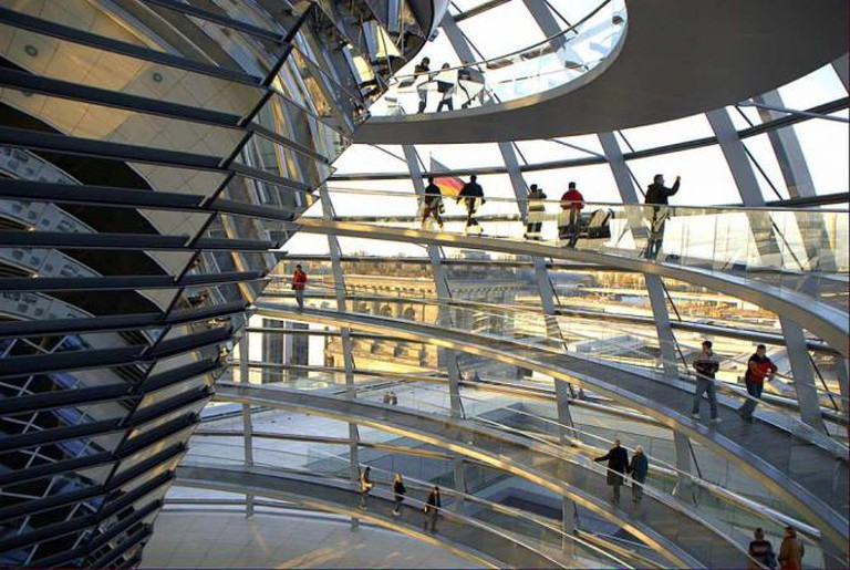 Reichstag Glass Dome, Berlin ©Wikicommons